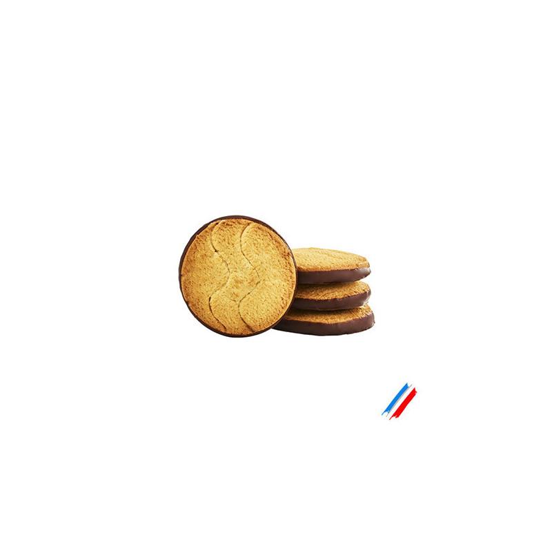 Biscuit nappé chocolat lait bio 200g