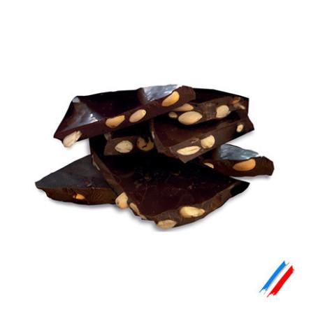 Chocolat noir amandes bio 100g