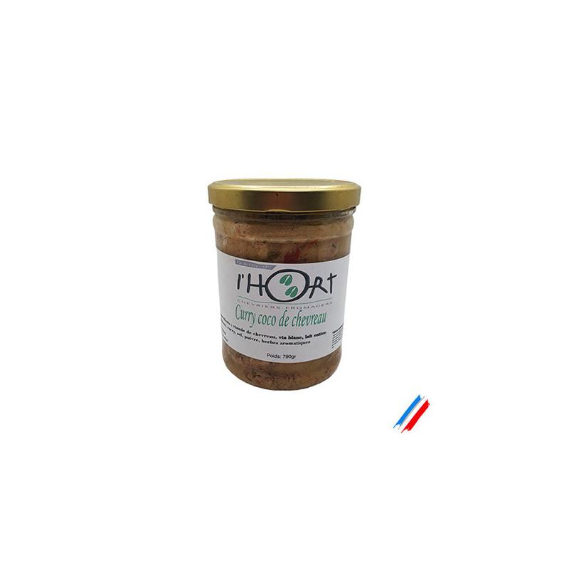 Curry coco de chevreau 790g