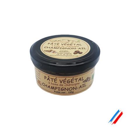 Pâté végétal champignon-ail 150g