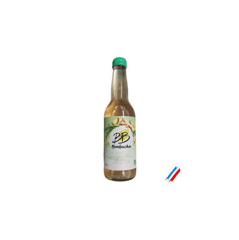 Gingembre Citronnelle bio 33cl