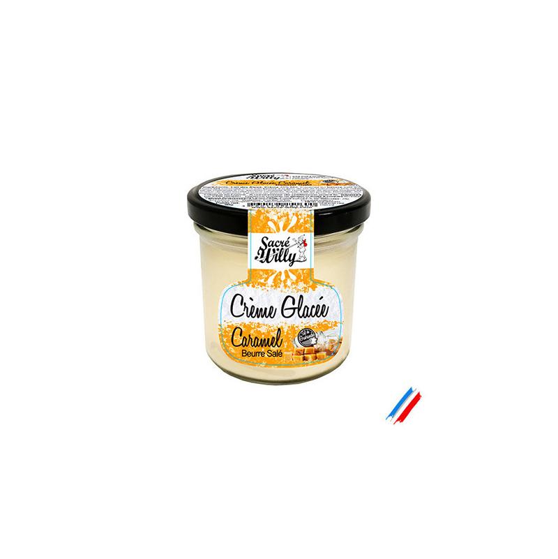 Crème glacée caramel beurre salé 150ml