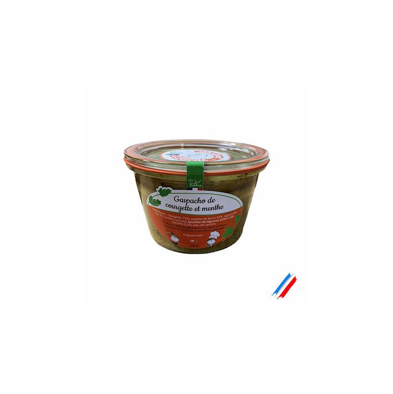 Gaspacho de courgette et menthe 240g