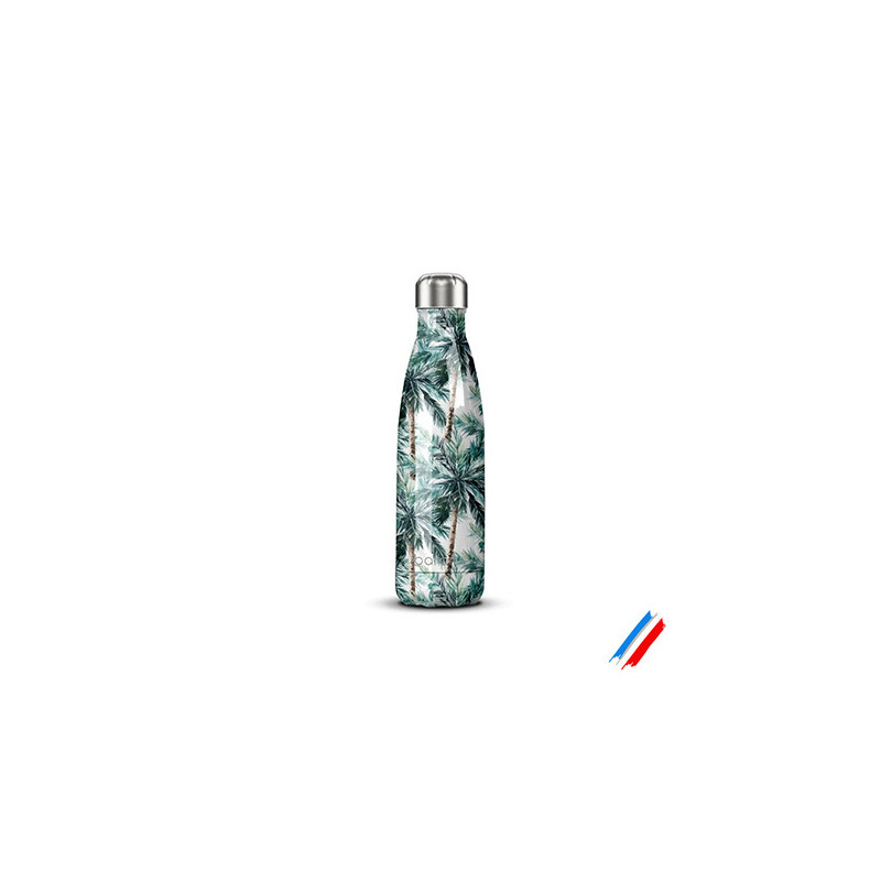 Gourde isotherme palmier 500ml